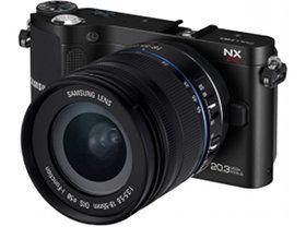 Samsung NX210 face