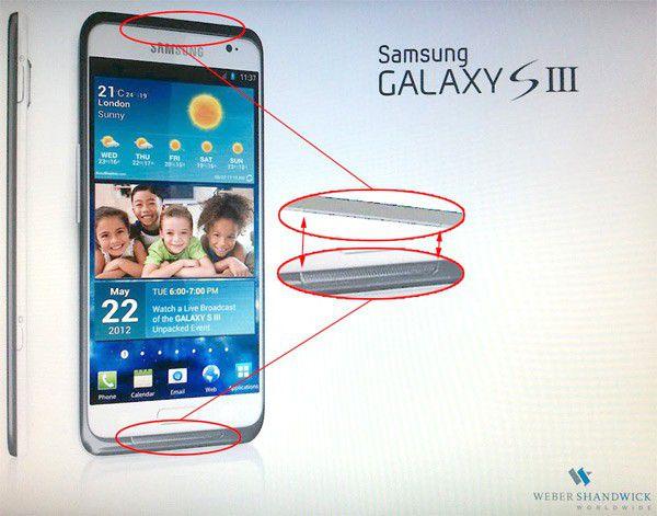 Rumeur samsung galaxy s3