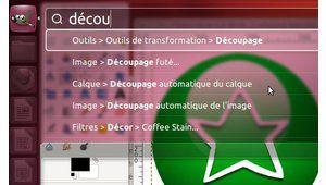 Chercher dans les menus d'applications : Ubuntu l'a fait...