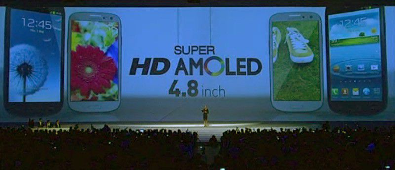 Samsung gs3 amoled