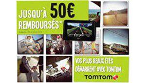 50 euros remboursés sur les GPS TomTom