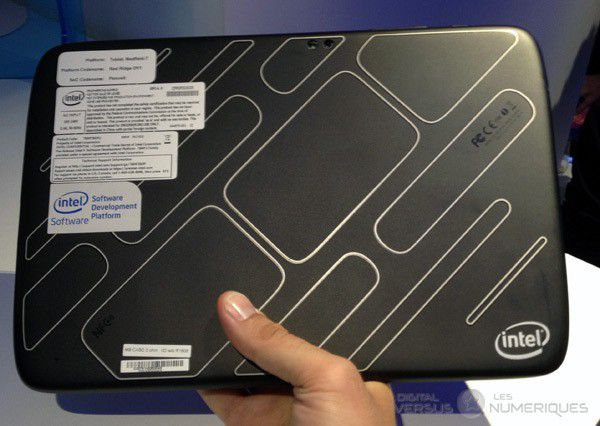 intel tablette medfield dos