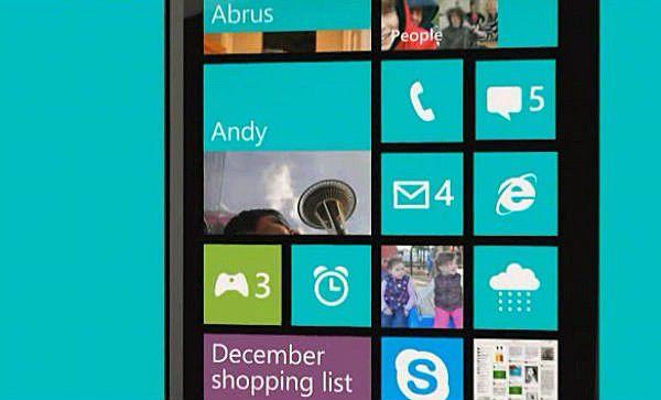 windows phone 8 apollo ecran accueil