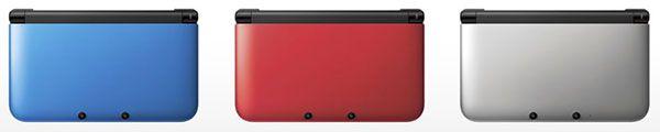 Nintendo 3DS XL Colors