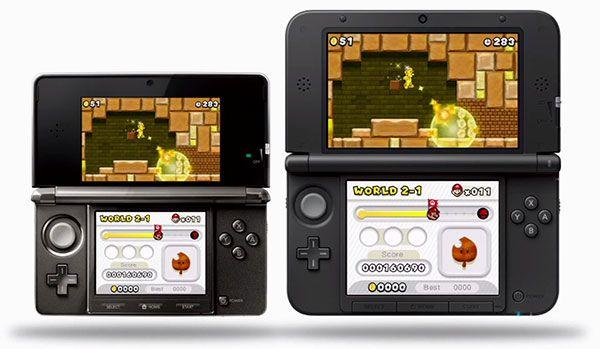 Nintendo 3DS XL NSMB2
