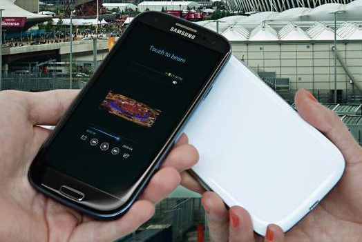 Samsung galaxy s3 marron
