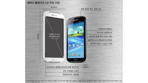 Samsung annonce son nouveau baladeur 5,8 pouces sous Android 4.0