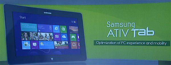 Samsung ativ tab