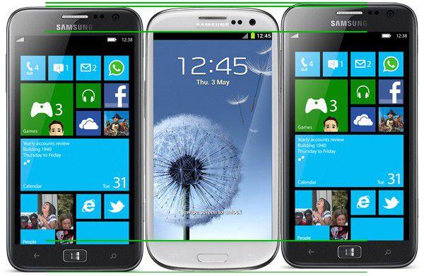 Samsung ativ s size