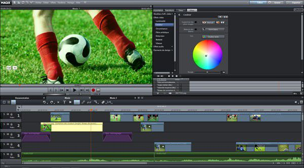 Video deluxe 2013 interface