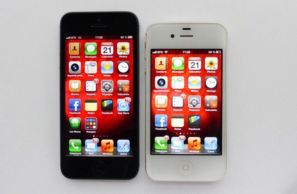 iPhone 5 vs iPhone 4S - LesNumériques