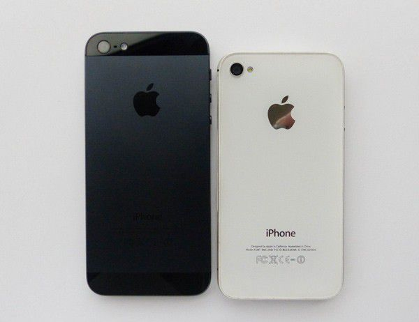 iPhone 5 vs iPhone 4S, dos - LesNumériques