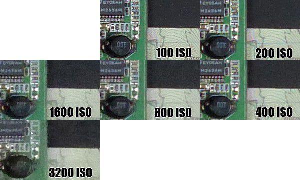 Montee ISO FZ200