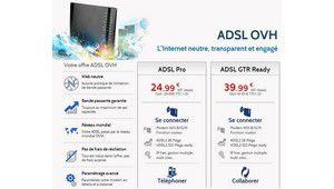 OVH arrête ses offres ADSL Low Cost