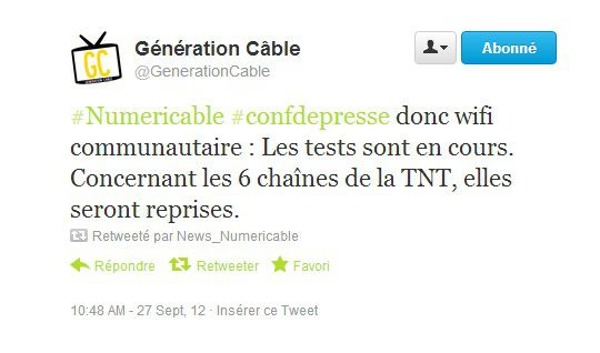 Tweet generationcable