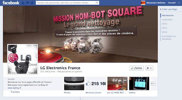 LG Facebook