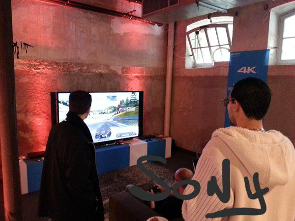 factory sony stand