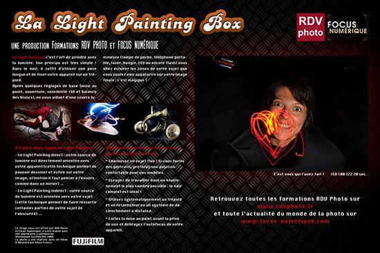 Light Painting Box