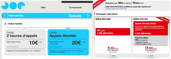 joe mobile sfr red