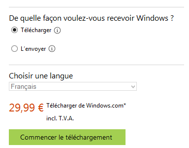 Telecharger windows 8