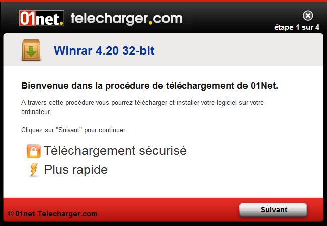 winrar gratuit 2012 01net