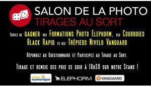 Tirage au sort Salon de la Photo : gagnez des accessoires photo !