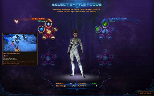 StarCraft 2 Heart of the Swarm Battle Focus