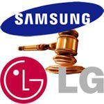 Samsung lg brevets oled