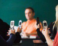 Telephones portables ecole