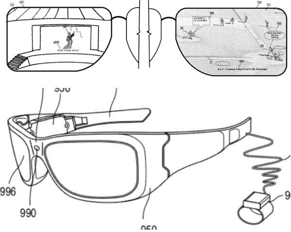 Microsoft lunettes