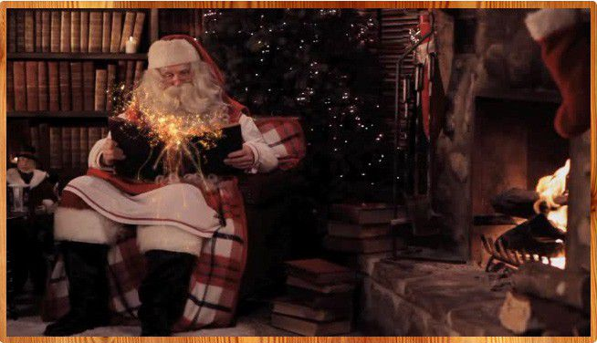 Pere noel message video