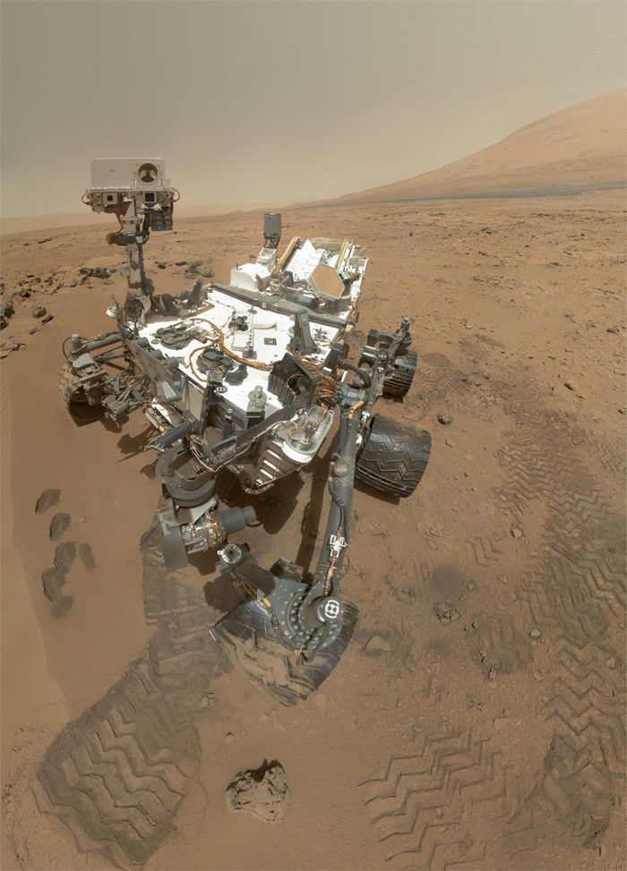 Curiosity photos