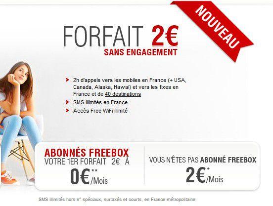 Nouveau forfait free 2