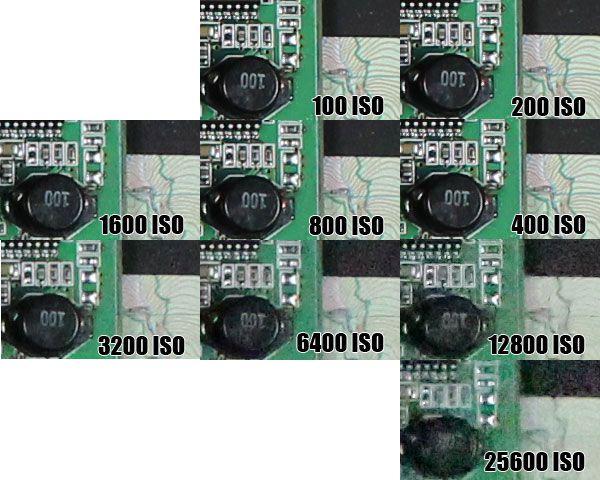 Montee ISO EOS M(1)