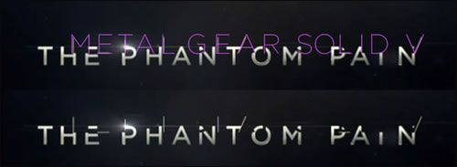 The Phantom Main Logo MGSV