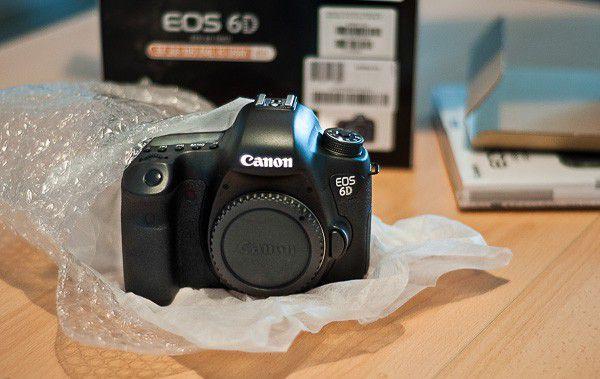 Canon 6D opération lecteurs / testeurs
