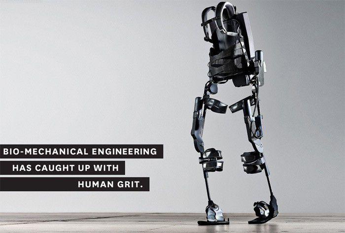 Ekso Bionics exosquelette
