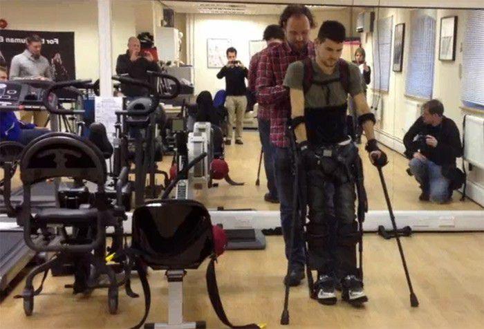 Exosquelette sportif