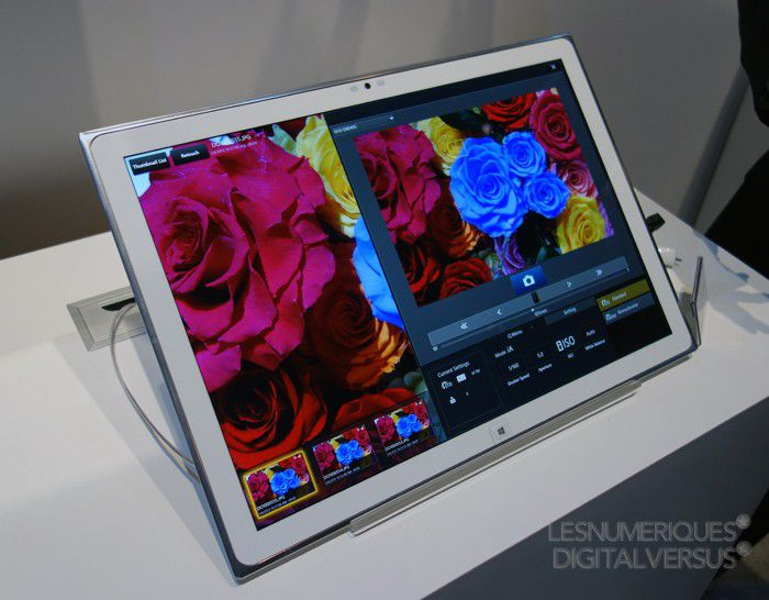 Panasonic tablette 4K