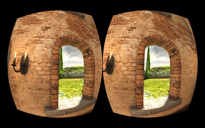 Oculus Rift Screen 2 Eyes