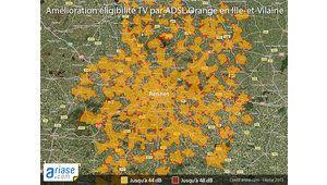 Orange élargit l'éligibilité de son service de TV par ADSL