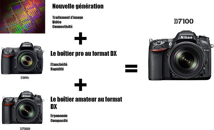 Nikon equation D7100