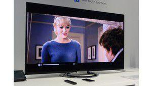 Démo de l'intérêt du NFC sur les TV Sony 2013 et qualité d'image du W9