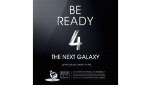 Galaxy S4, une prise en mains pour les fans le 14 mars à Times Square