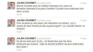 Licencié à cause d'un tweet : Julien Courbet