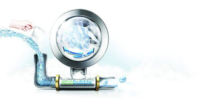 Samsung Eco Bubble technologie