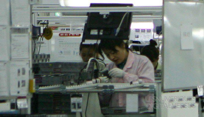 Smartphone usine 1 lg