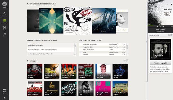 Spotify nouveautés petit