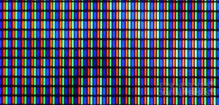 Sony mvm e250 sub pixels oled