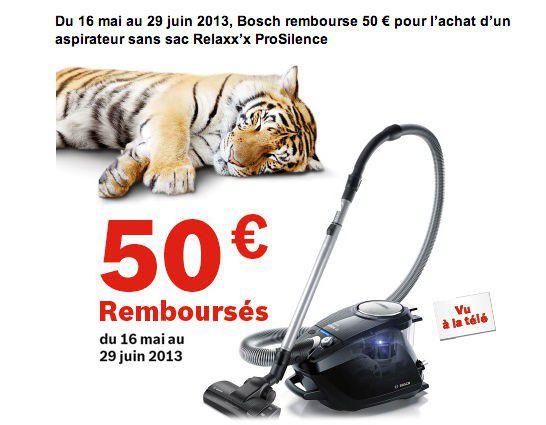 bosch relaxx 39 x bgs51261 aspirateur sans sac sans bruit avec odr. Black Bedroom Furniture Sets. Home Design Ideas